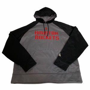 Adidas Houston Rockets Climawarm Hoodie Size M